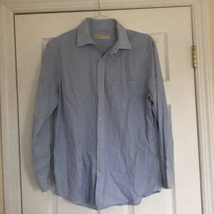 men's michael kors button down